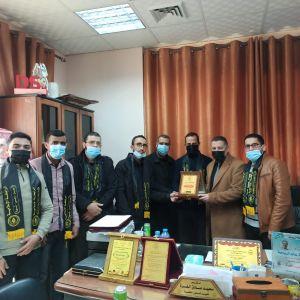 الرابطة الإسلامية تنظم زيارة للجامعة الإسلامية بغزة