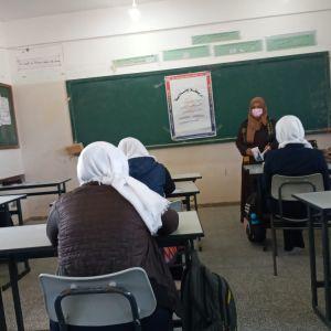 """الرابطة الاسلامية  تنظم ندوة بعنوان """"فلسطين أرضي والقدس عاصمتي """"بخان يونس"""