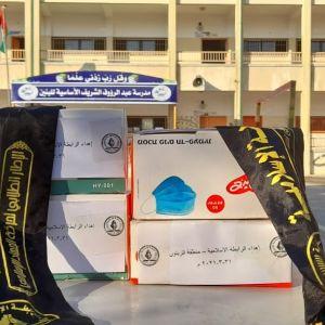 الرابطة الاسلامية  تشرع بحملة وقاية في مدارس محافظة غزة
