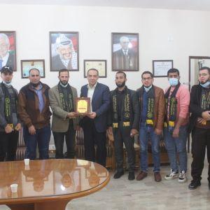 الرابطة الإسلامية تنظم زيارة لجامعة القدس المفتوحة بغزة