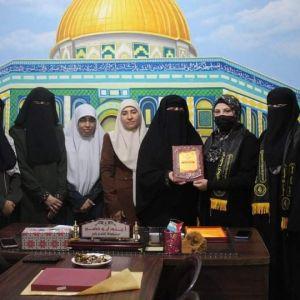 الرابطة الإسلامية تنظم زيارة للاطار النسوي لحركة الجهاد الإسلامي بمحافظة رفح.