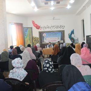 الرابـطة الإسلامية تعقد لقاءً سياسـياً شمال القطاع.