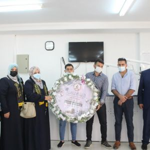 الرابطة الإسلامية تُكرِّم الشهيدة طالبة الطب شيماء أبو العوف.