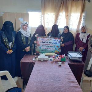 الرابطة الإسلامية تزور الإطار النسوي لحركة الجهاد الإسلامي بمحافظة الوسطى