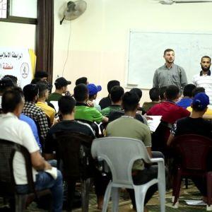 الرابطة الإسلامية تواصل دروس التقوية بمحافظة غزة