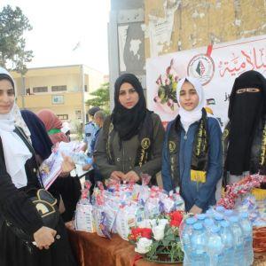 الرابطة الإسلامية تستقبل طلبة الثانوية العامة بمدارس الشمال.