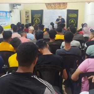 الرابطة الإسلامية مستمرة في تنفيذ دروس المراجعة النهائية برفح
