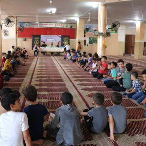 الرابطة الإسلامية تنظم لقاء دعوي للمشاركين في الحملة شمال غزة