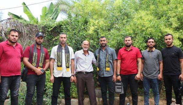 الرابطة الإسلامية تزور عائلة الشهيد وسيم المصري
