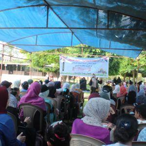 الرابطة الإسلامية  تنظم يوم ترفيهي لطالبات المدارس في محافظة الوسطى