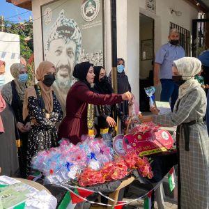 الرابطة الإسلامية تستقبل الطالبات في جامعة القدس المفتوحة بمحافظة غزة