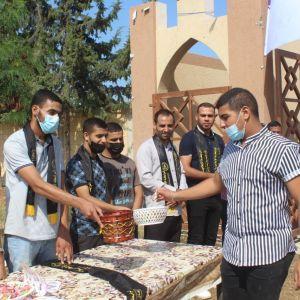 الرابطة الإسلامية تستقبل الطلبة في جامعة القدس المفتوحة في خانيونس
