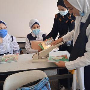 الرابطة الإسلامية تنظم حملة دبوسك علينا في مدارس غزة