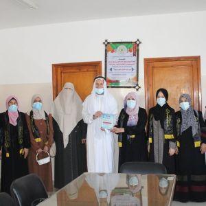 الرابطة الإسلامية تستقبل الطالبات في كلية الدعوة الإسلامية شمال غزة