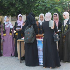 الرابطة الإسلامية تستقبل الطالبات في كلية الدعوة الإسلامية بالوسطى