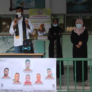 الرابطة الإسلامية _إقليم الوسطى تنظم وقفة عز بمدرسة شهداء دير البلح الثانوية للبنات .