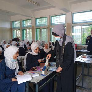 الرابطة الإسلامية تنظم حملة دبوسك علينا ٩ في مدارس الشمال