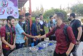 الرابطة الإسلامية تستقبل الطلبة في كلية فلسطين للتمريض بخانيونس