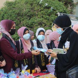 الرابطة الإسلامية تستقبل طالبات الجامعة الإسلامية بغزة