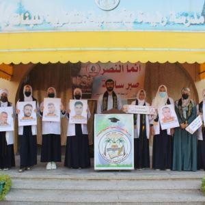 الرابطة الإسلامية تستضيف الأسير المحرر إياد أبو ناصر في مدرسة رفيدة الأسلمية
