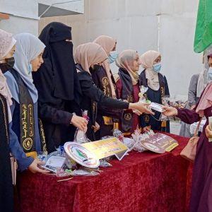 الرابطة الإسلامية تستقبل طالبات جامعة الأقصى بغزة