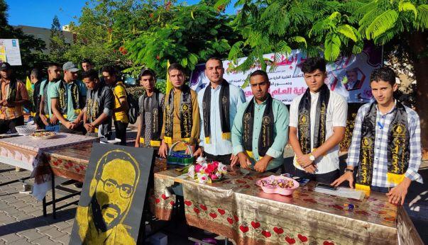 الرابطة الإسلامية تستقبل الطلبة في جامعة الأقصى بخانيونس