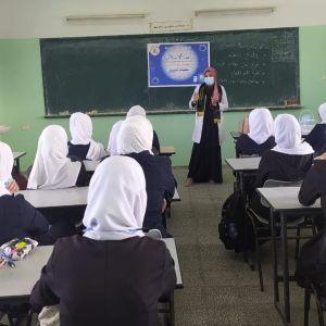 الرابطة الإسلامية تنظم حملة تطعميك أمانك في خانيونس