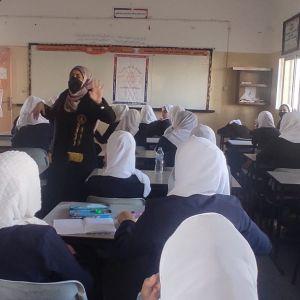 الرابطة الاسلامية تنفذ ندوة  في أهمية العلم واحترام المعلمين بخان يونس