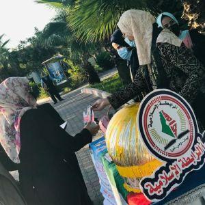 الرابطة الإسلامية تستقبل الطالبات في الكلية الجامعية للعلوم التطبيقية  بخانيونس