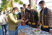 الرابطة الإسلامية تستقبل الطلبة في الكلية الجامعية للعلوم التطبيقية بخانيونس