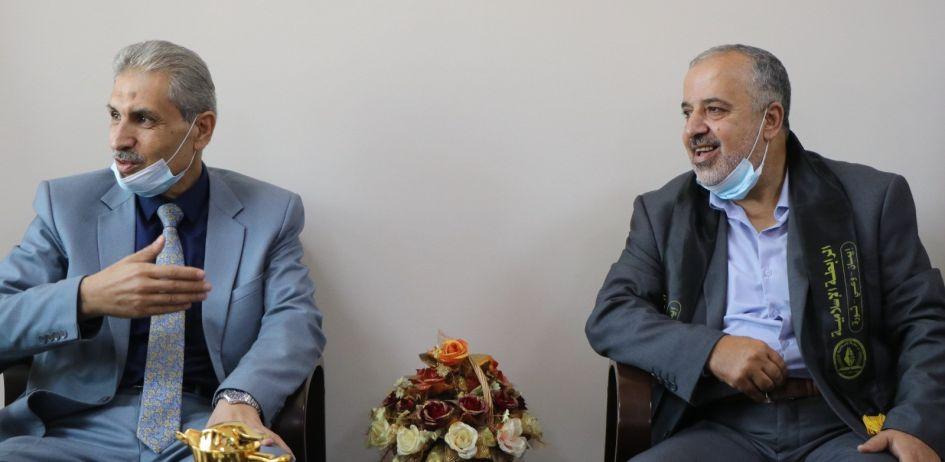 الرابطة الإسلامية تنظم زيارة لجامعة القدس المفتوحة شمال غزة
