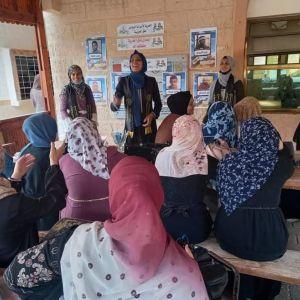 الرابطة الإسلامية تنفذ ملتقى في الكلية العربية برفح.