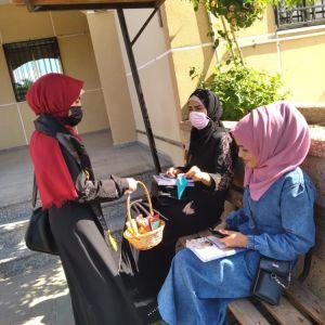 الرابطة الإسلامية تنفذ جولة دينية في ذكرى المولد النبوي بجامعة القدس المفتوحة خانيونس